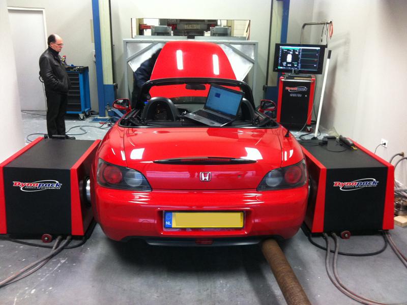 Honda S2000 turbo dyno