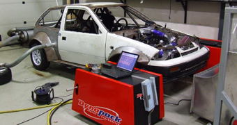 Suzuki Swift with Hayabusa turbo engine