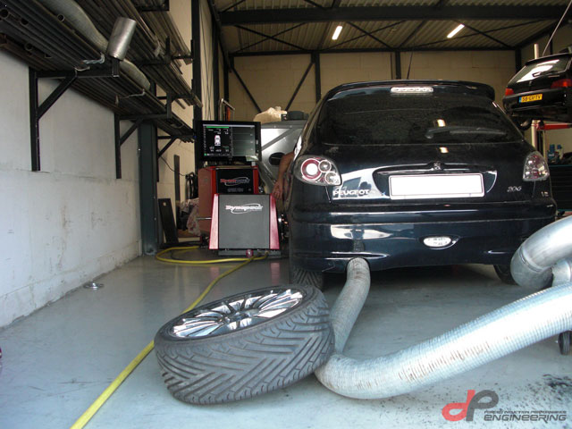 Peugeot 206 RC with GT3071R