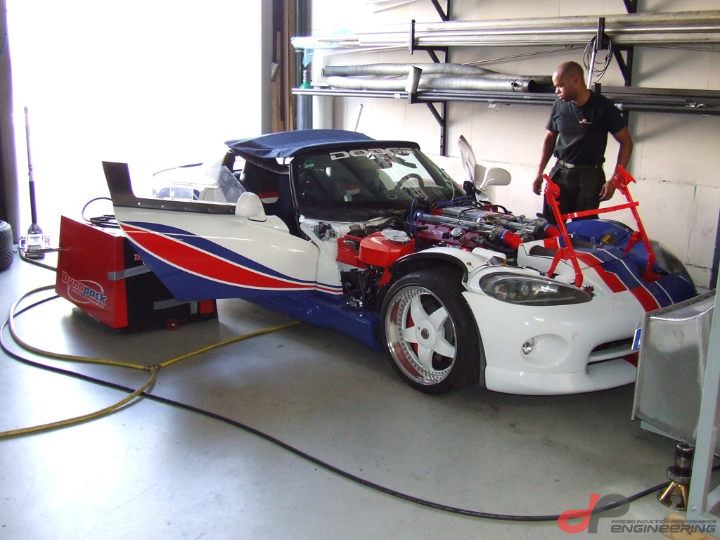 Dodge Viper with Supercharger