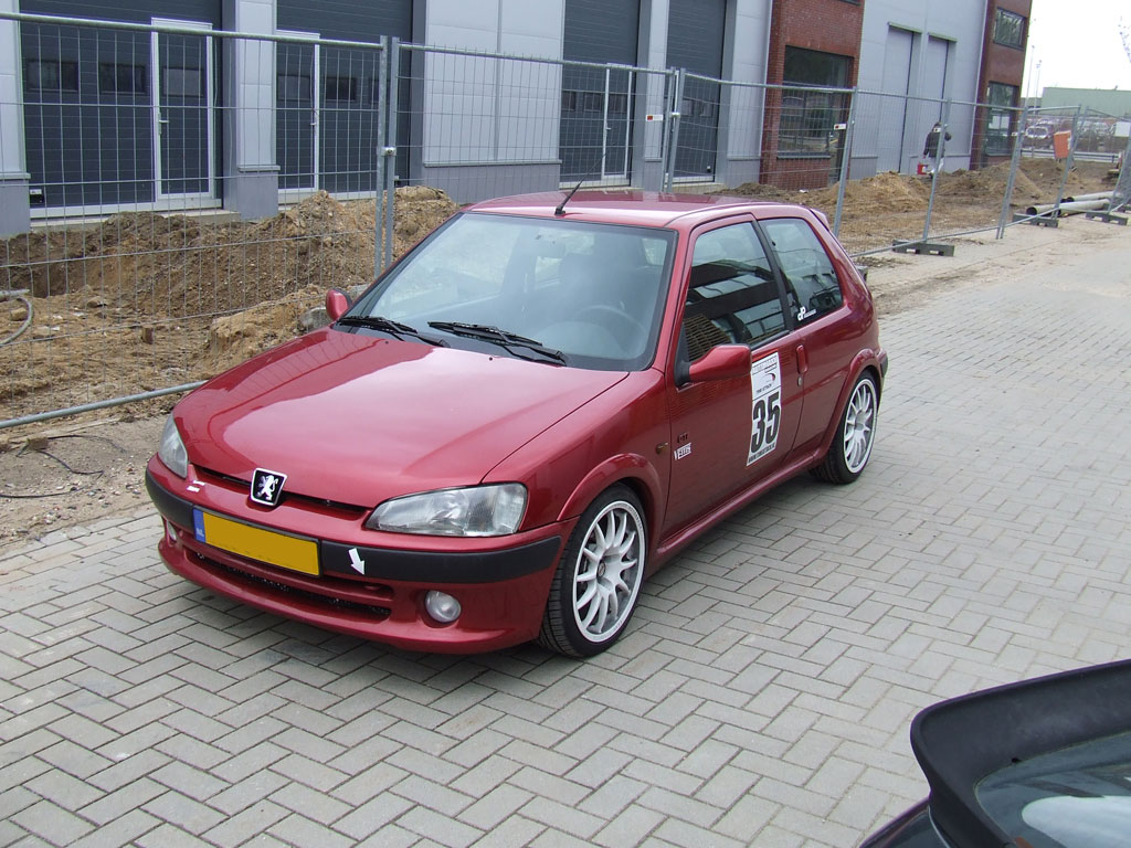 Peugeot 106 GTi Turbo GT2871R on E85 fuel