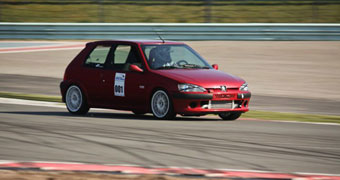 Peugeot 106 GTi Turbo GT2871R with E85 fuel