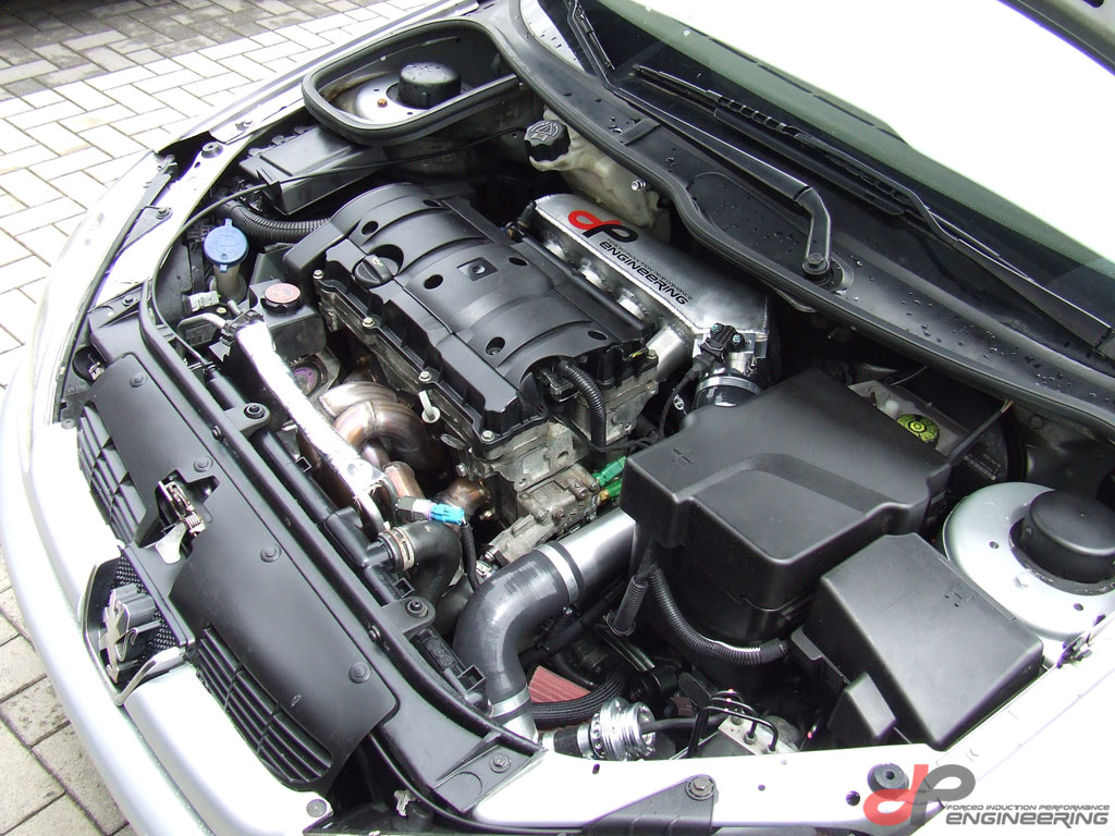 how install turbo peugeot 206