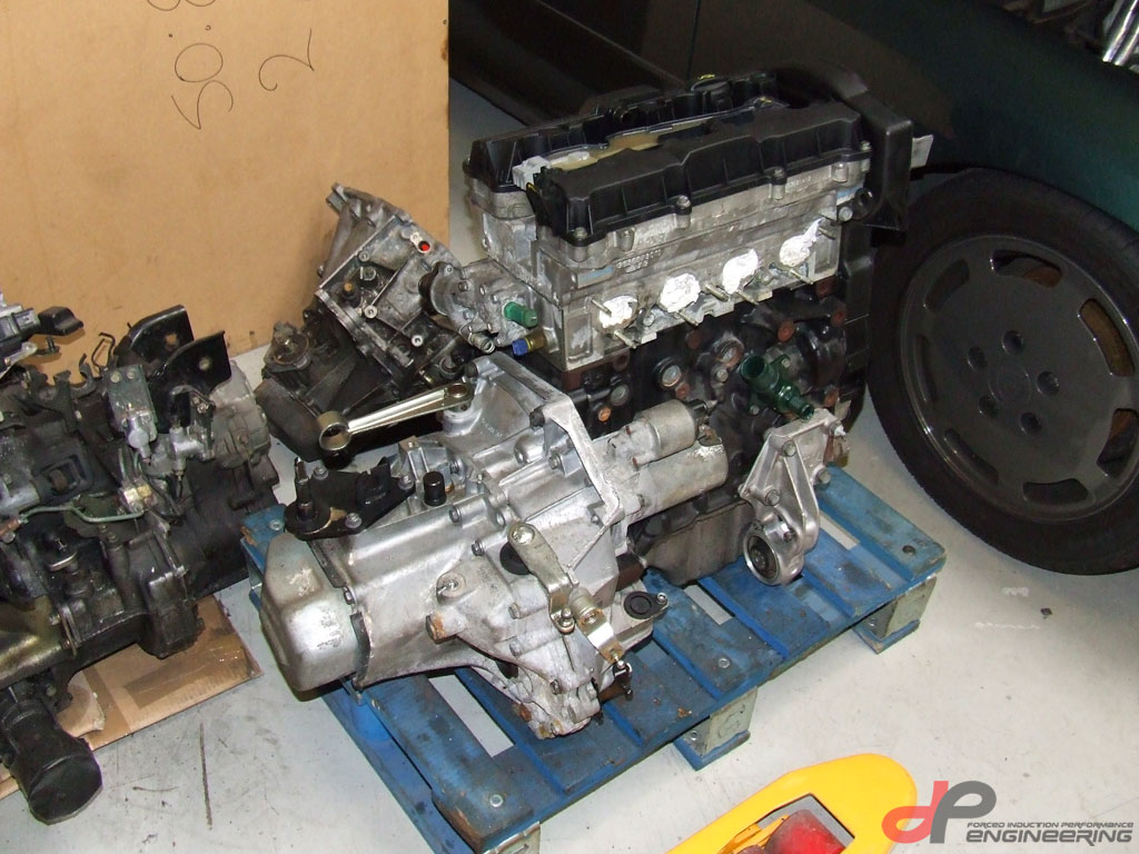 TU5JP4 engine with gearbox