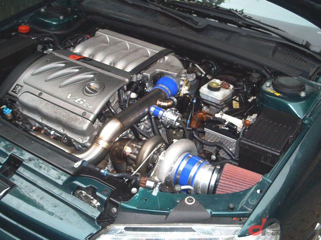 Peugeot 406 V6 Turbo GT25/40R